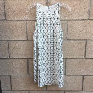 A.L.C. 100% silk Printed dress